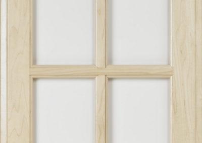 Glass Door with 4 Lites